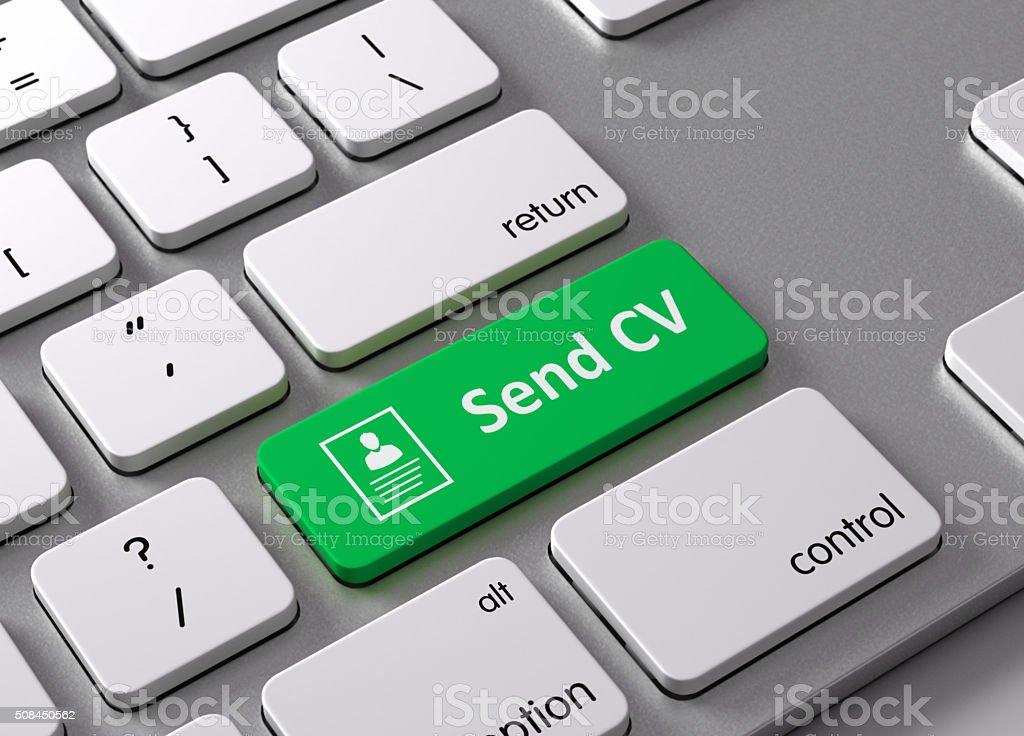 Send CV stock photo