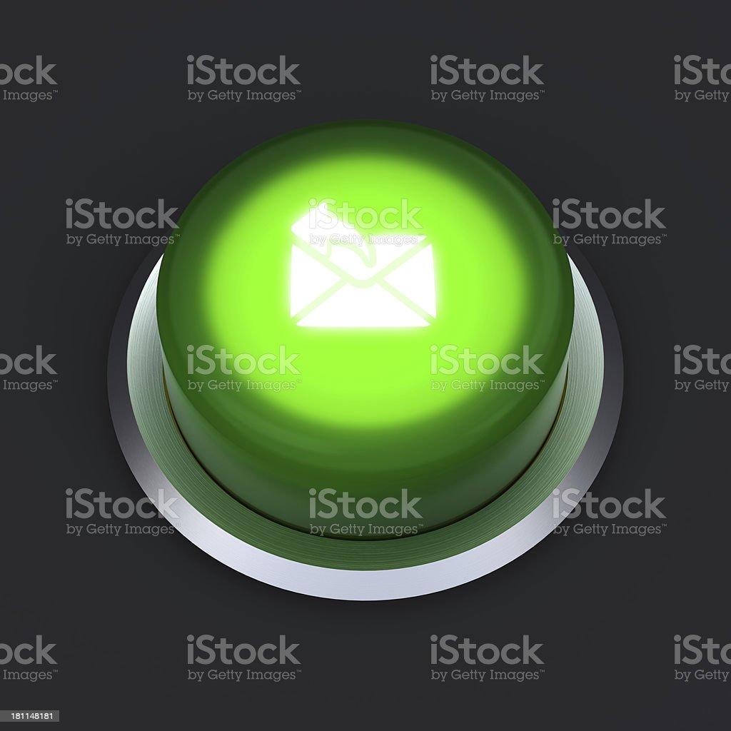 send e-mail button royalty-free stock photo