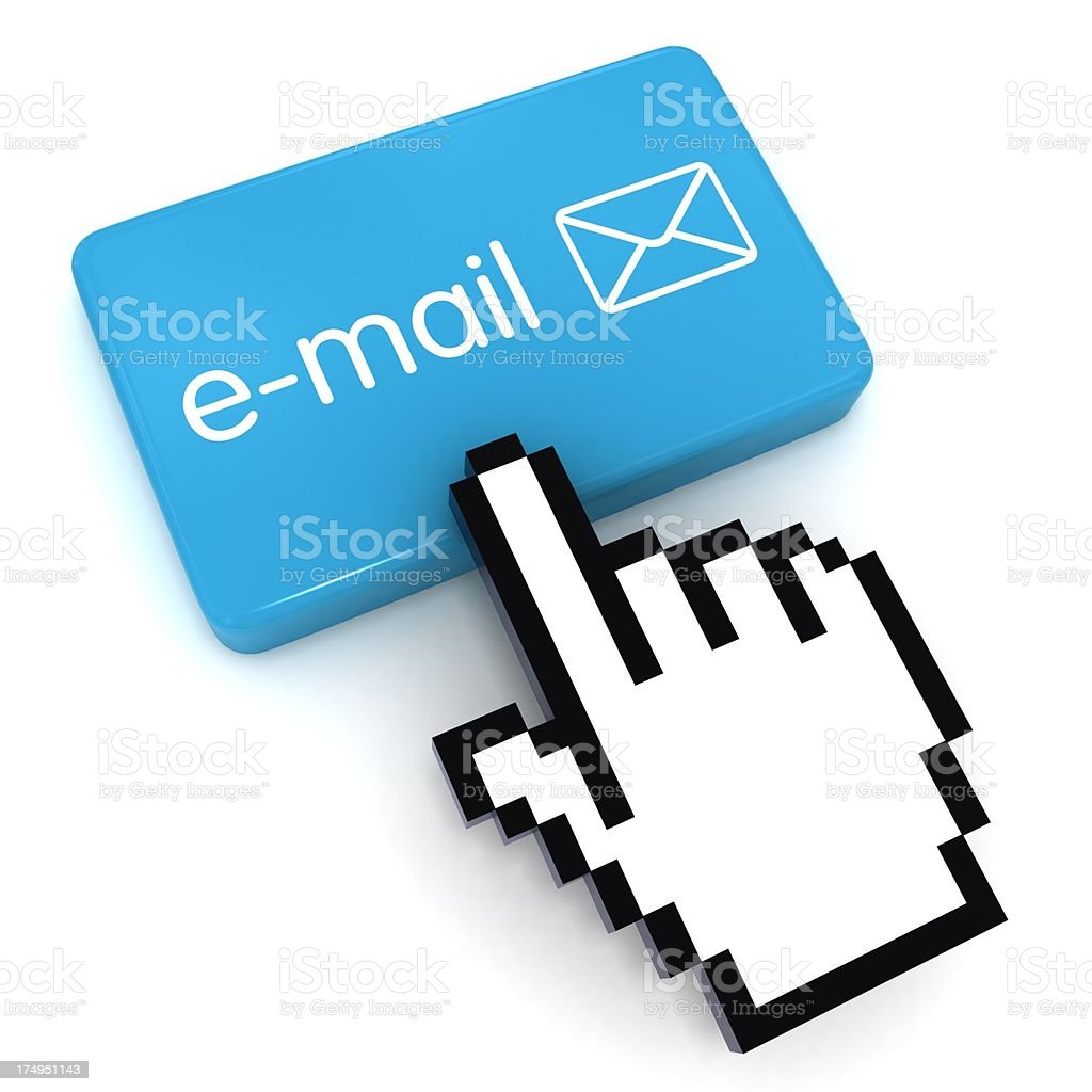 Send Email royalty-free stock photo