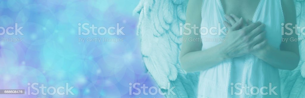 Send Your Angel A Message stock photo