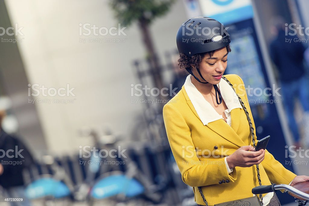 Sending message stock photo