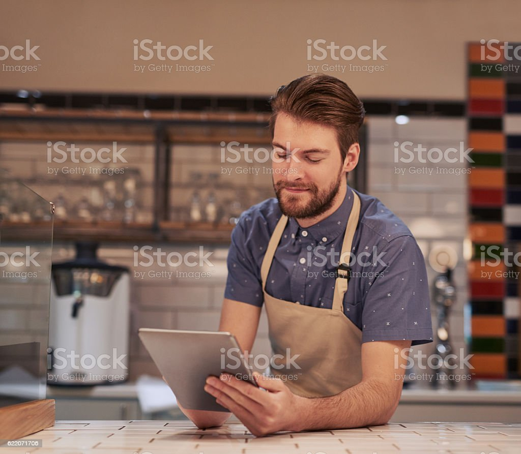 Sending out special offers to all my existing customers stock photo