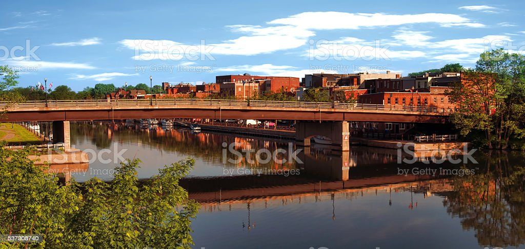 Seneca Falls stock photo