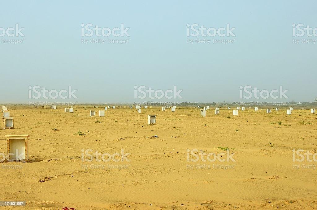 Senegal Housing Project stock photo