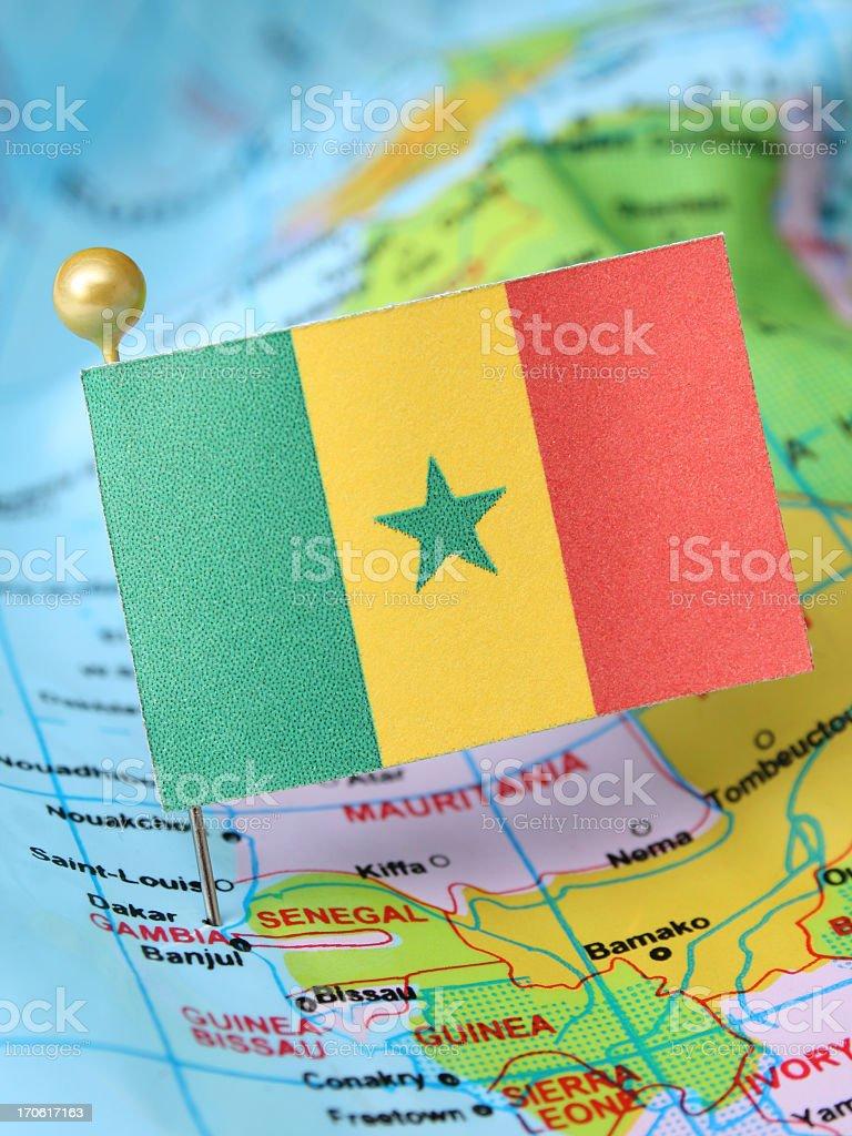 Senegal royalty-free stock photo