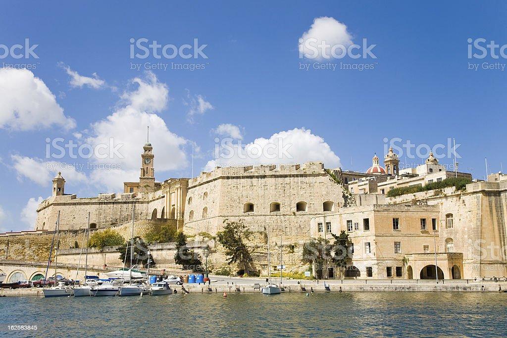 Senglea, Malta royalty-free stock photo
