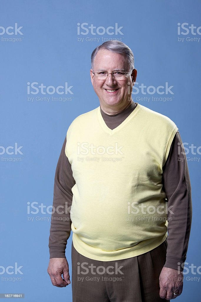 senior adult male stock photo
