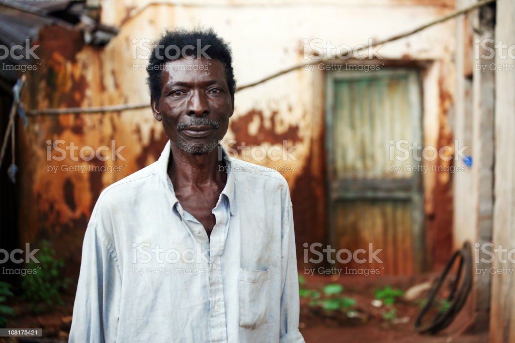 senior african man royalty-free stock photo