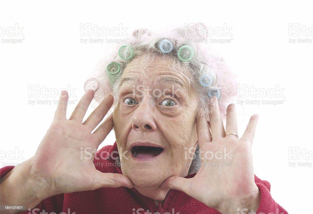 senior beauty royalty-free stock photo