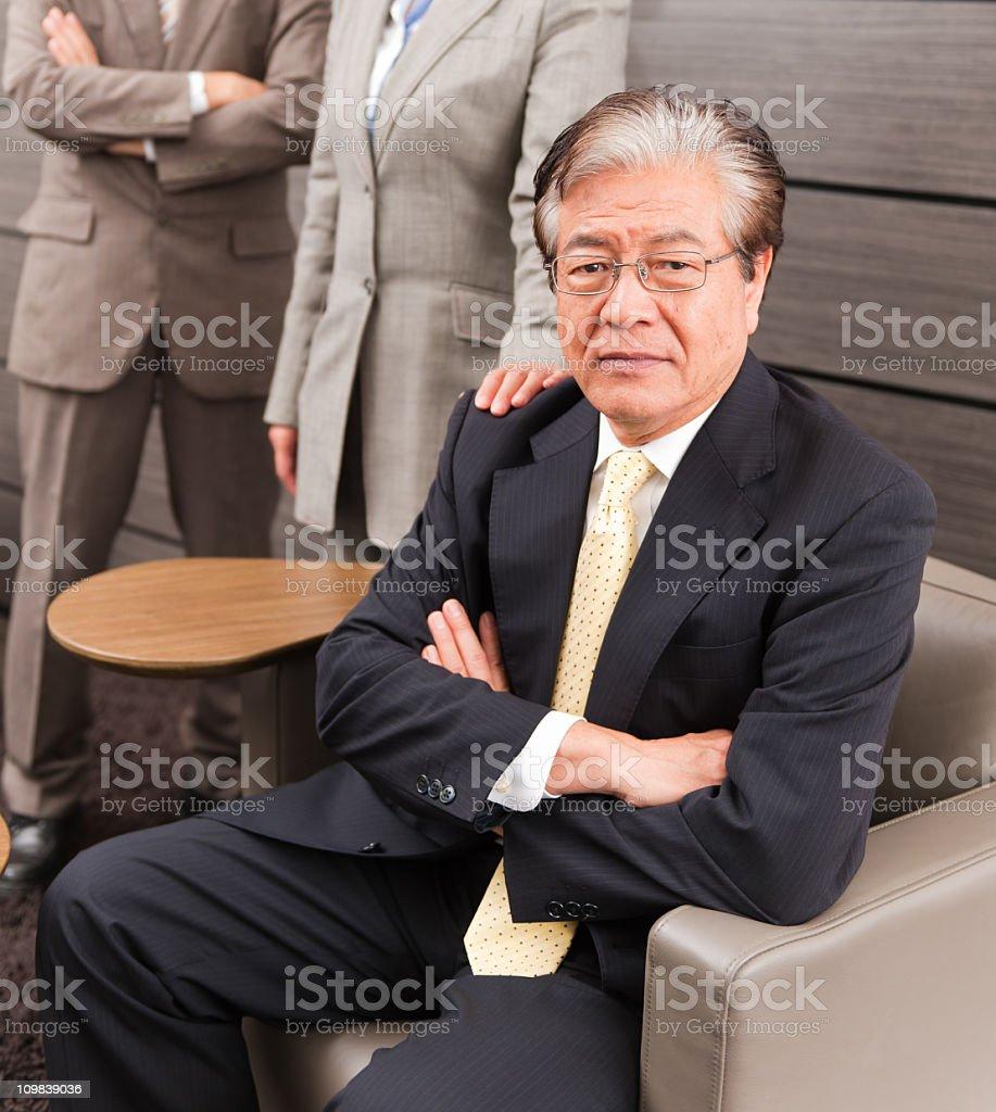 Senior Business Director royalty-free stock photo