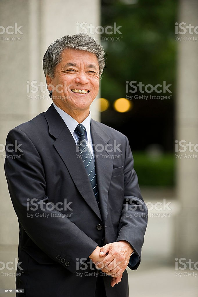 Senior Business Executive royalty-free stock photo