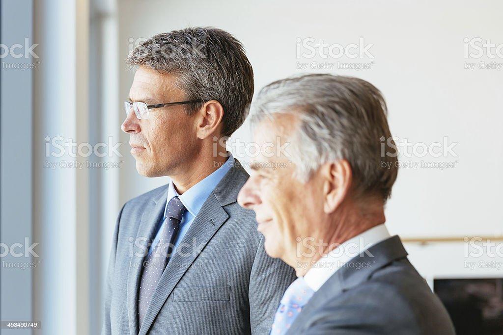 Senior Business Partners,Management Team royalty-free stock photo