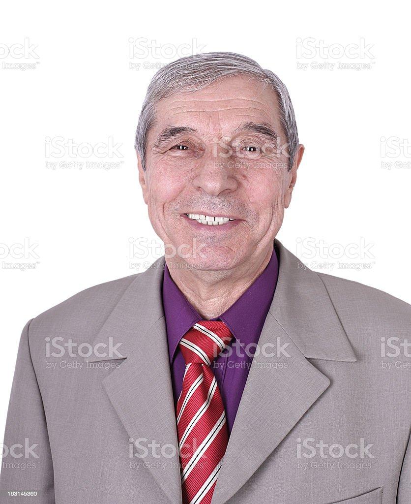 Senior hombre de negocios foto de stock libre de derechos