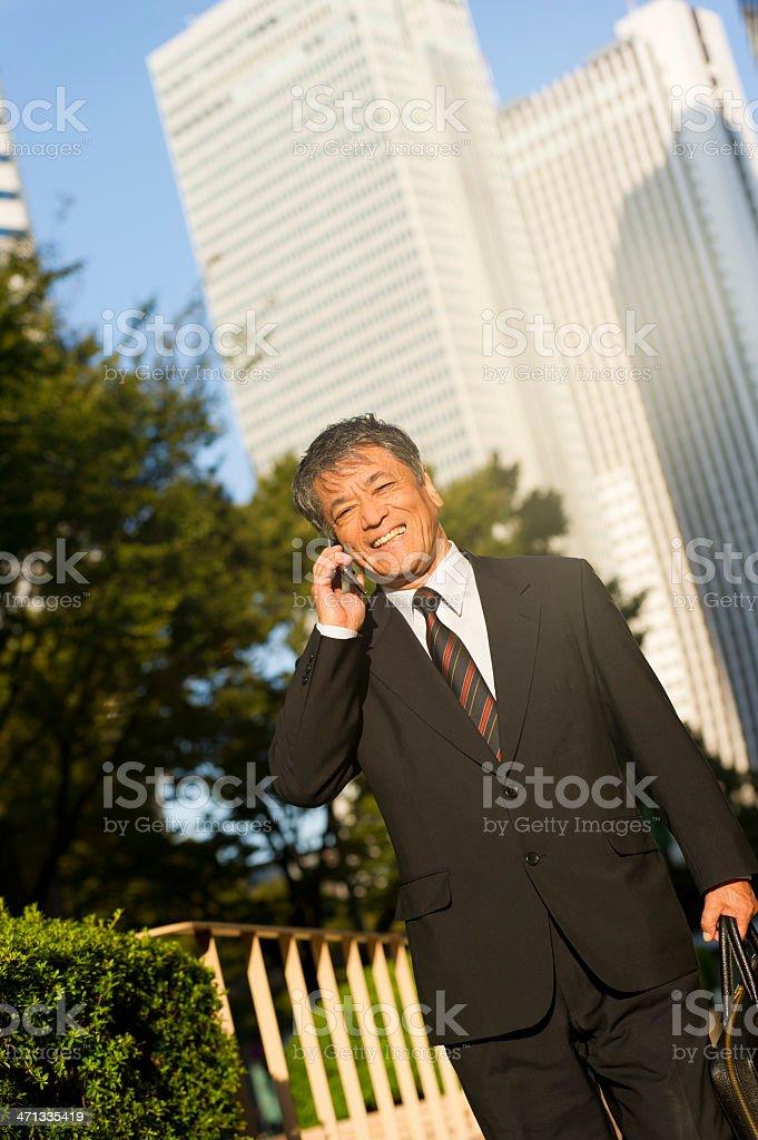 Senior Businessman royalty-free stock photo