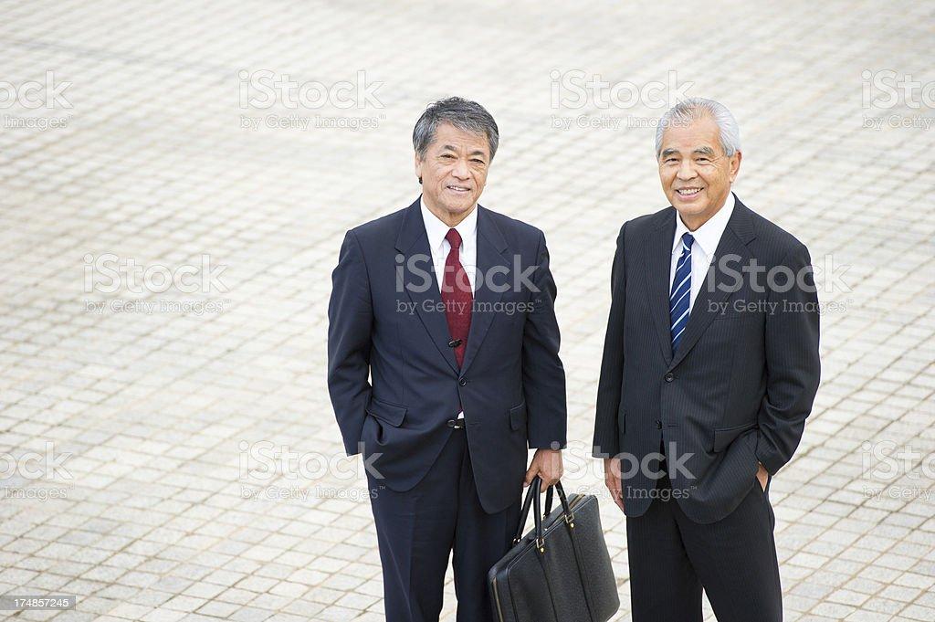 Senior Businessmen royalty-free stock photo