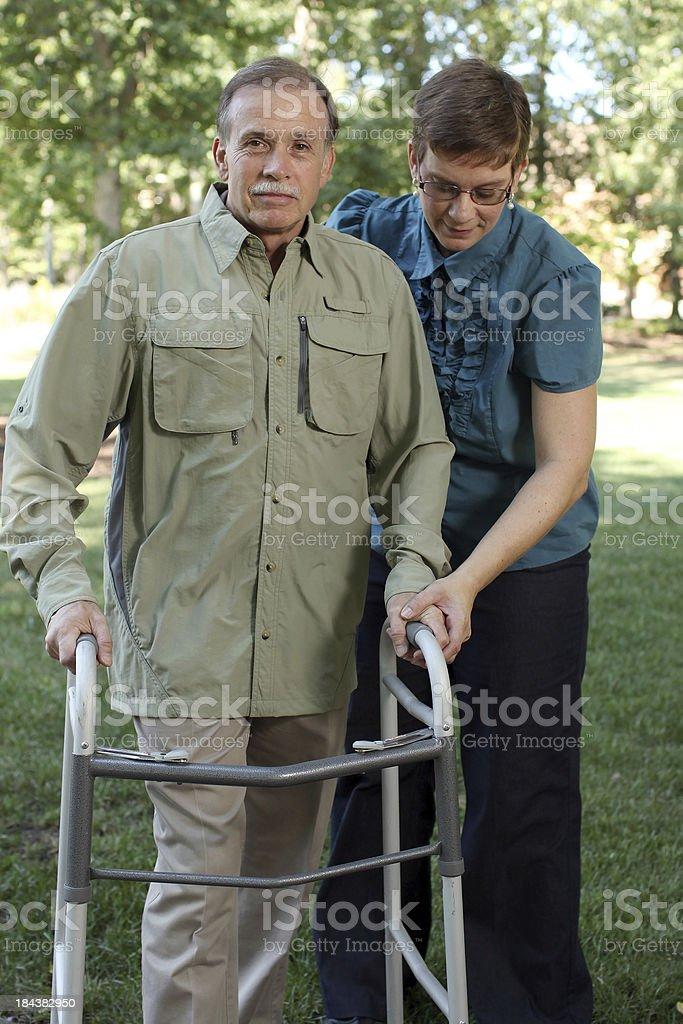 Senior Care royalty-free stock photo