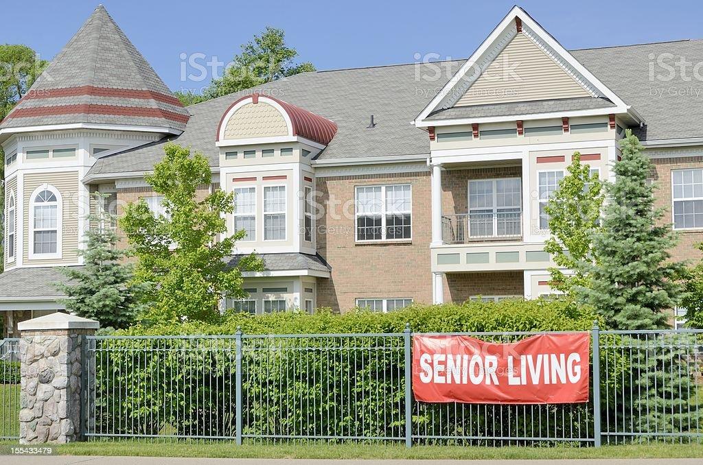 Senior Center stock photo