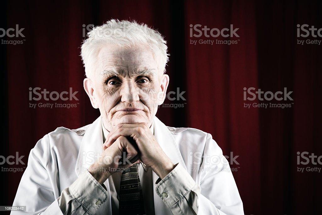 Senior citizen stock photo
