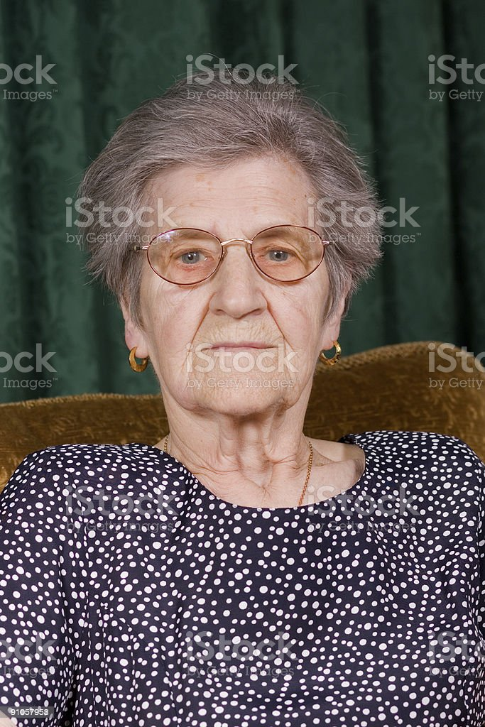 Senior Citizen royalty-free stock photo