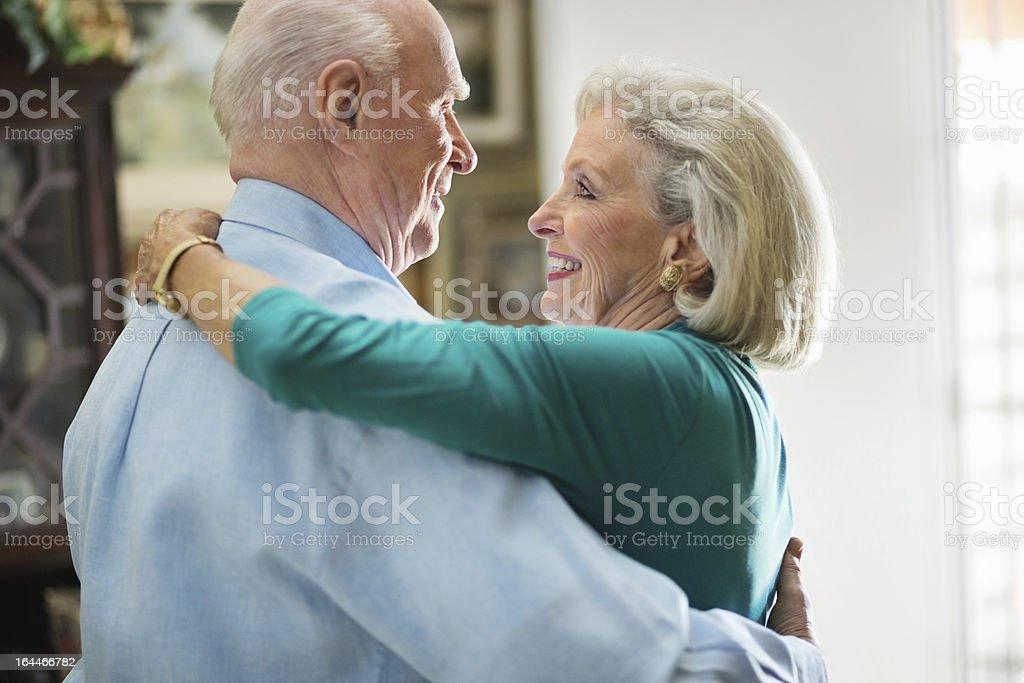 Senior Couple Dancing royalty-free stock photo