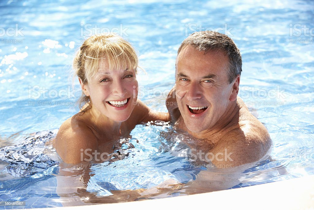 Image result for senior in the pool