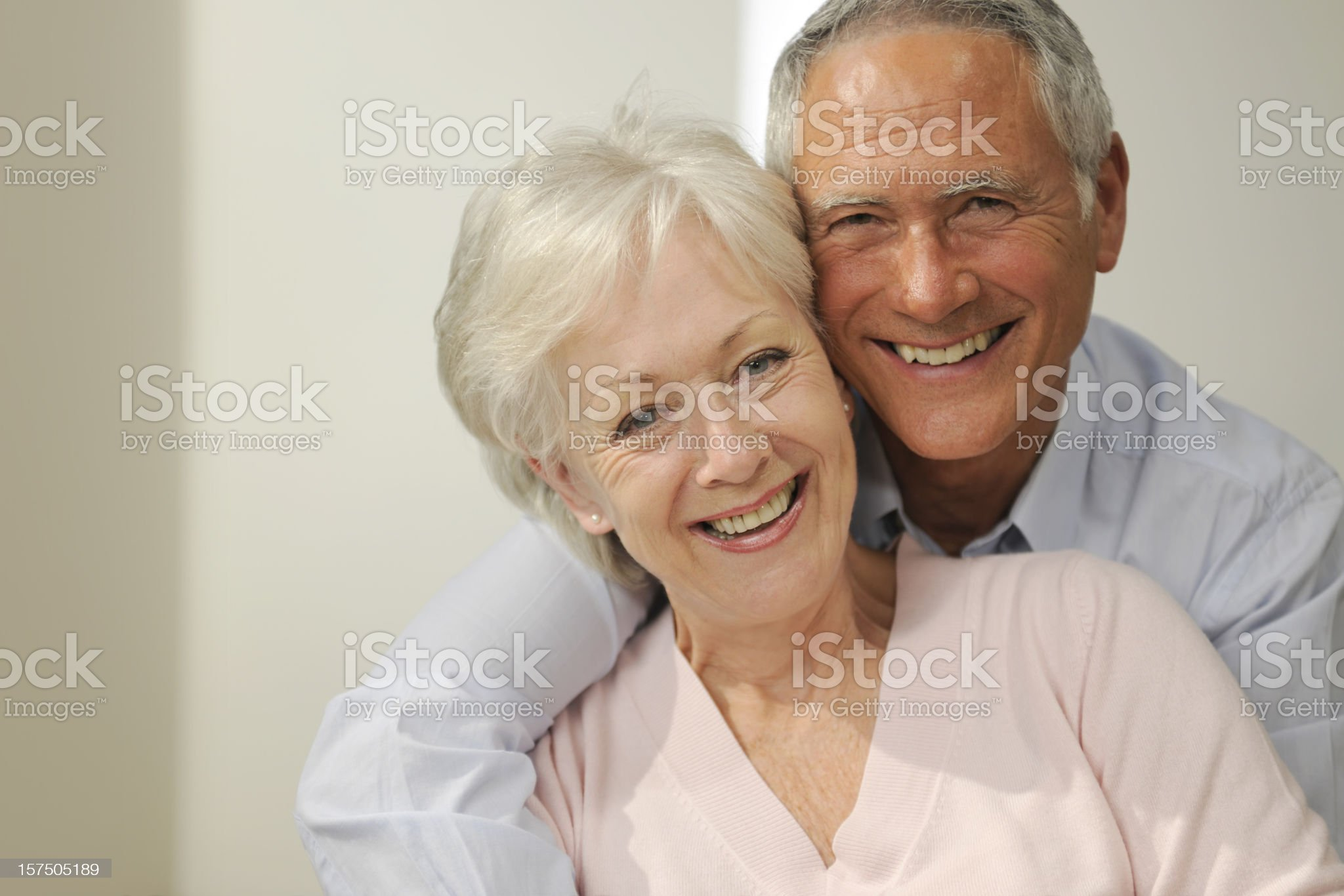 senior couple royalty-free stock photo