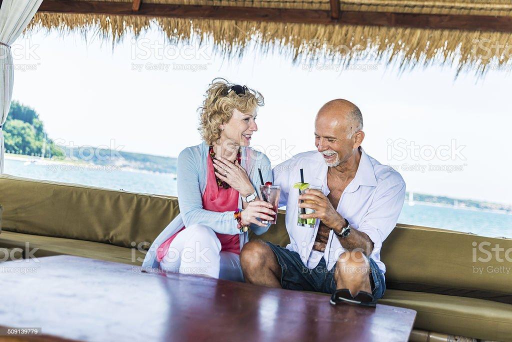 Senior Couple royalty-free stock photo