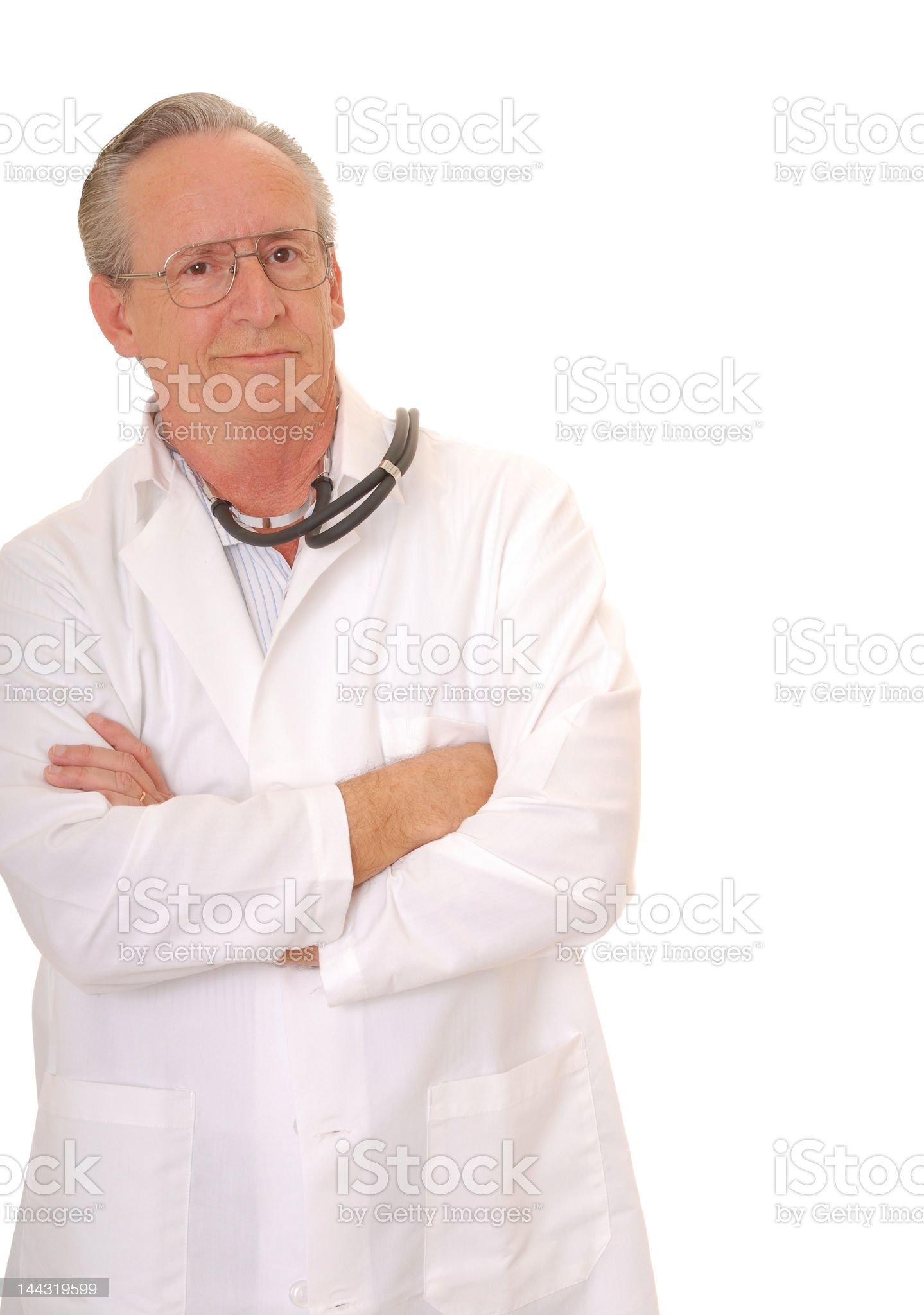 Senior Doctor royalty-free stock photo