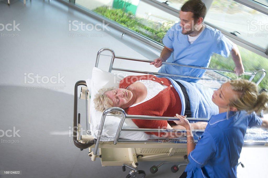 senior emergency royalty-free stock photo