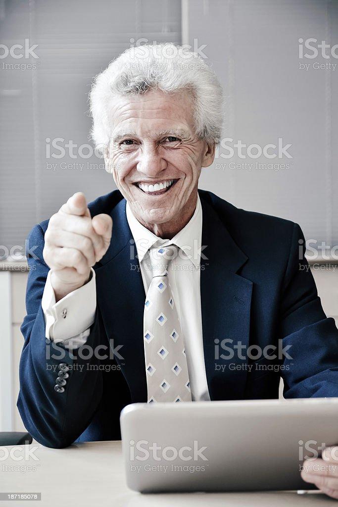 Senior executive. royalty-free stock photo