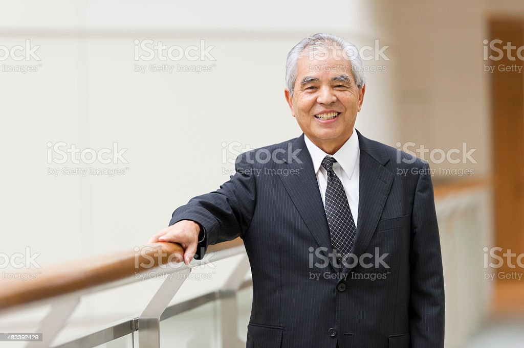 Senior Executive royalty-free stock photo