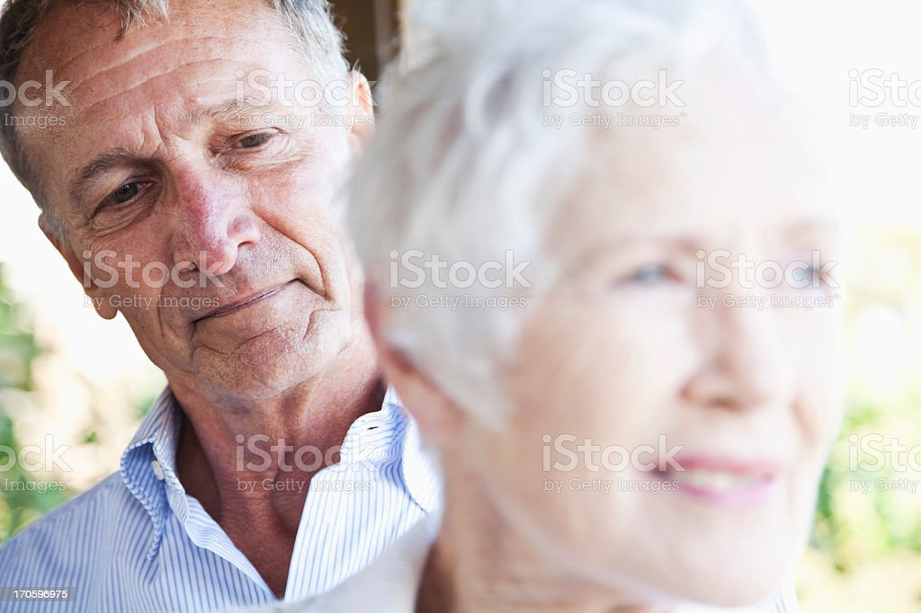 Senior faces royalty-free stock photo