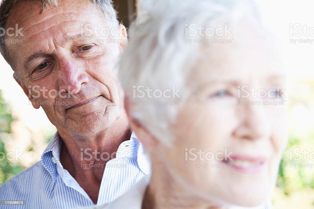 Senior faces stock photo