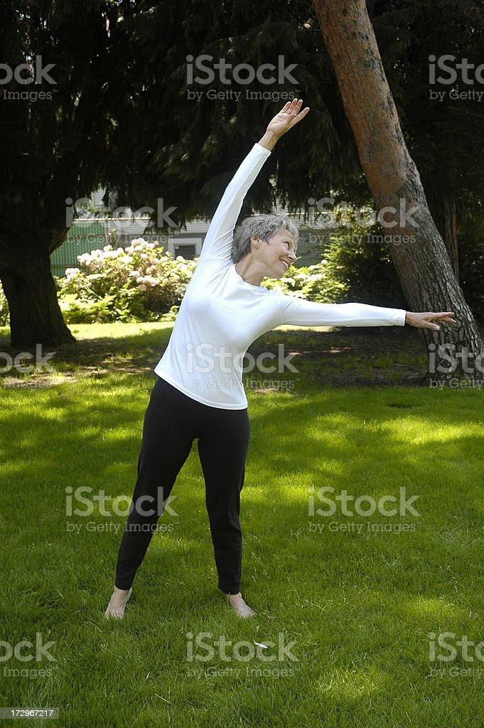 Senior Fitness royalty-free stock photo