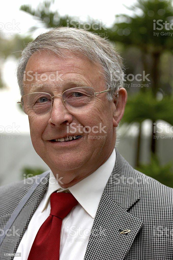 Senior Gentleman royalty-free stock photo