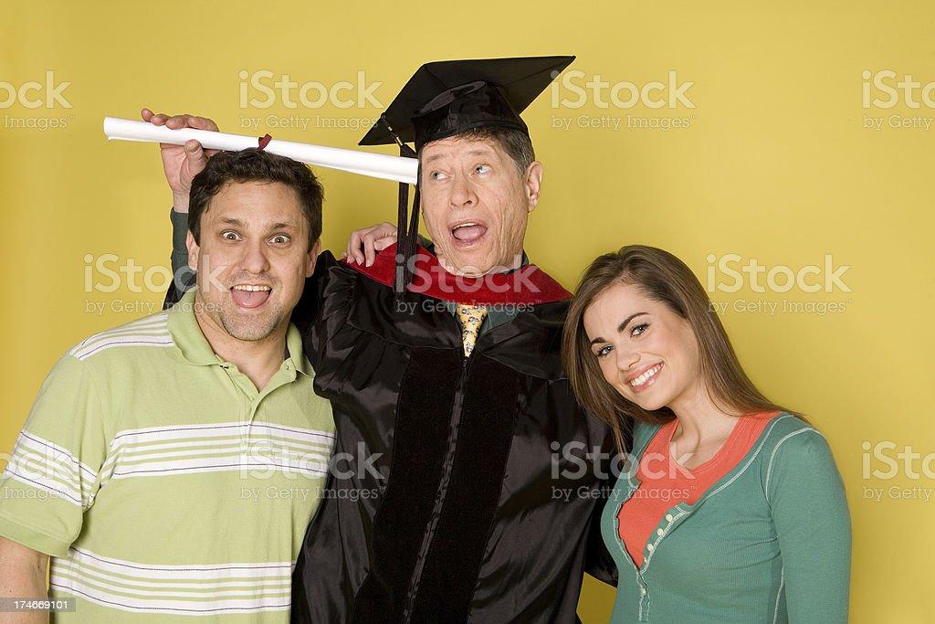 Senior Graduation stock photo