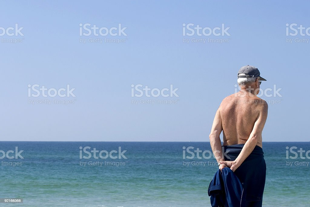 senior grandfather pensioner 04 royalty-free stock photo
