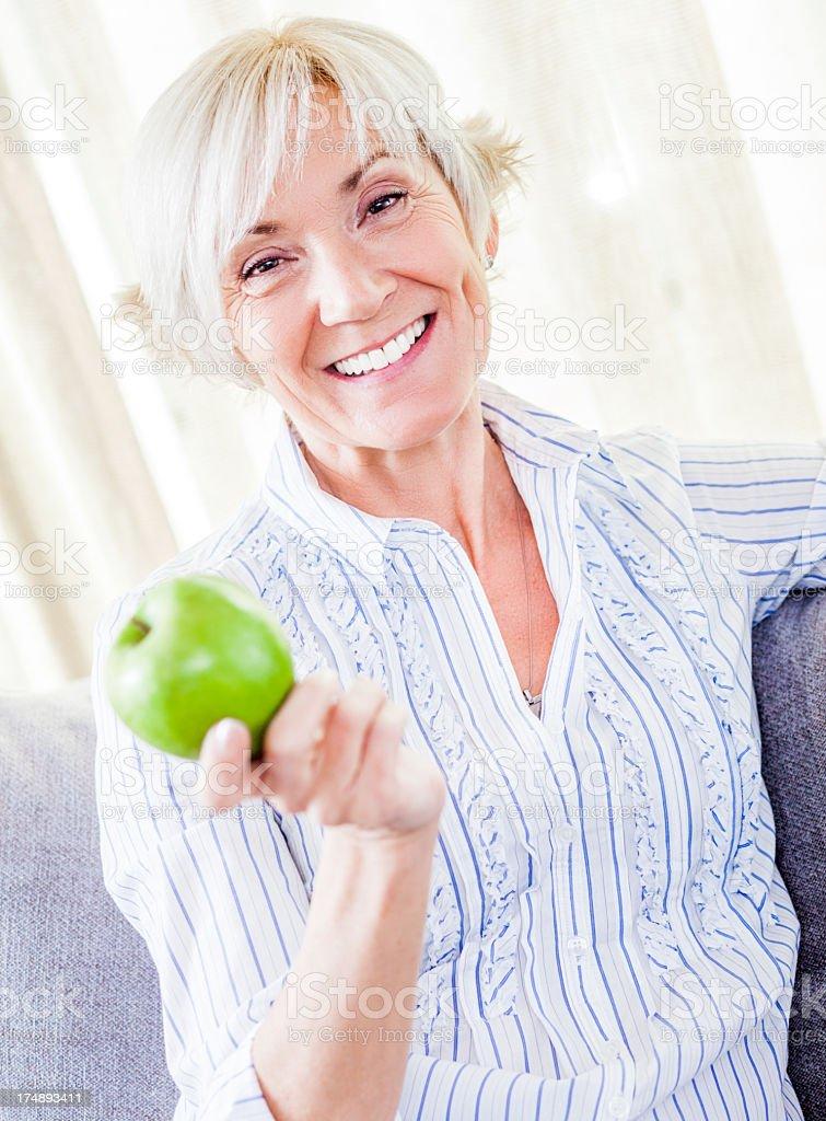 Senior Health royalty-free stock photo