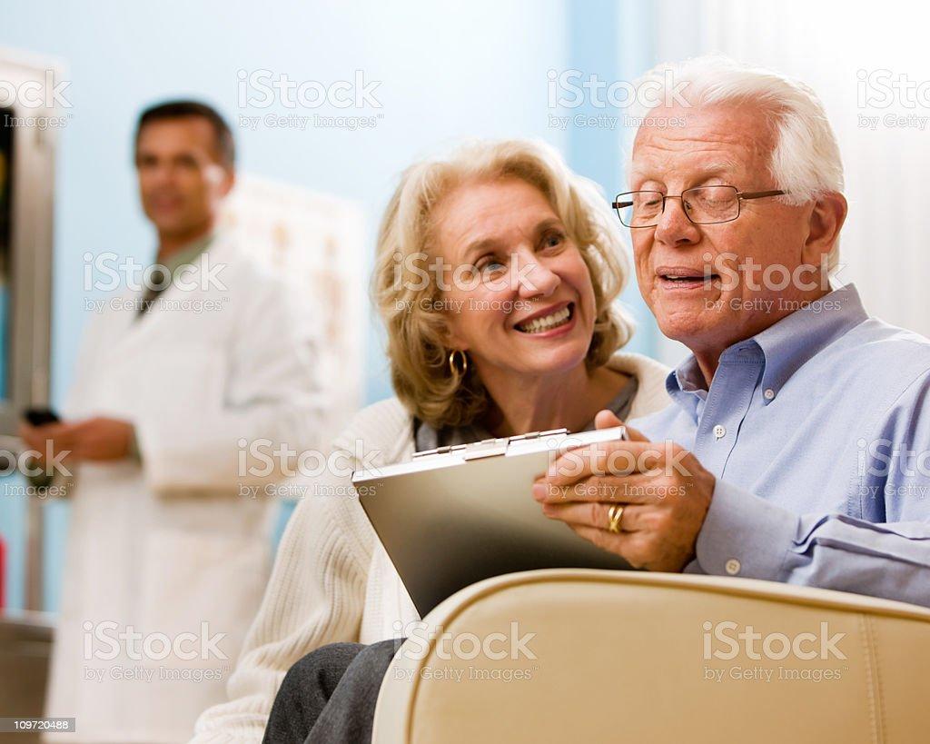 Senior Healthcare royalty-free stock photo