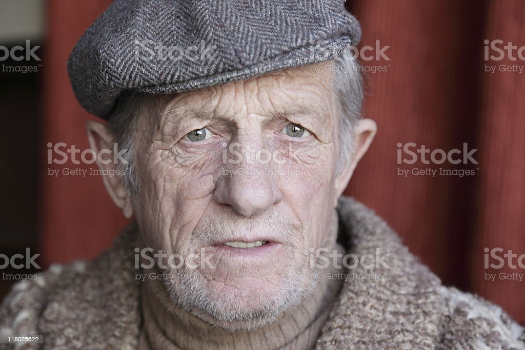 Senior Male royalty-free stock photo