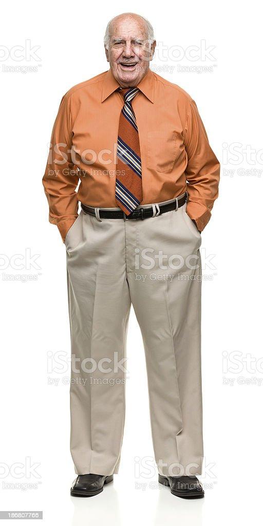 Senior Male Portrait royalty-free stock photo