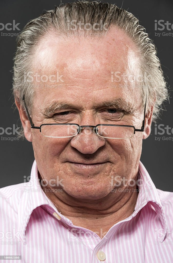 Senior Man royalty-free stock photo