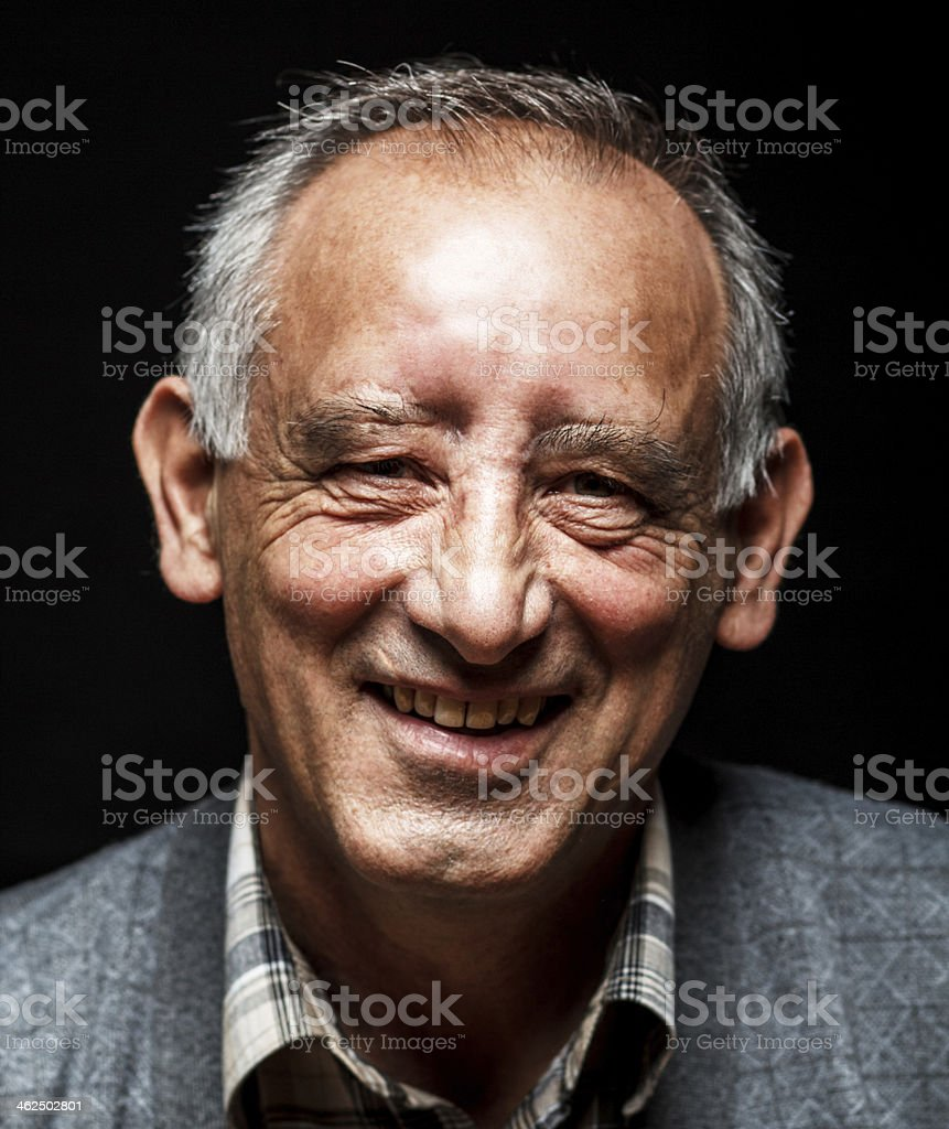 Senior man stock photo