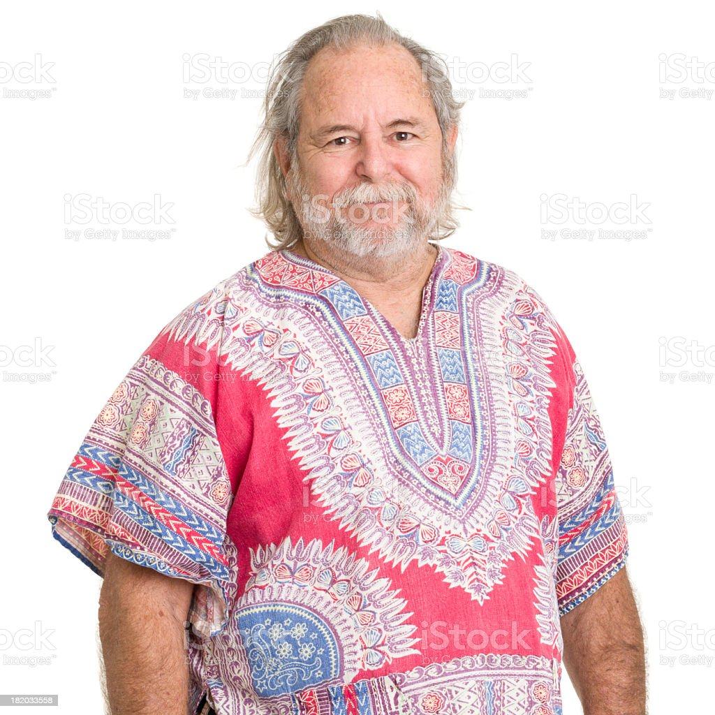 Senior Man Portrait stock photo