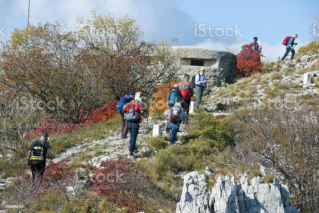 Senior Mountaineering by Bunker stock photo