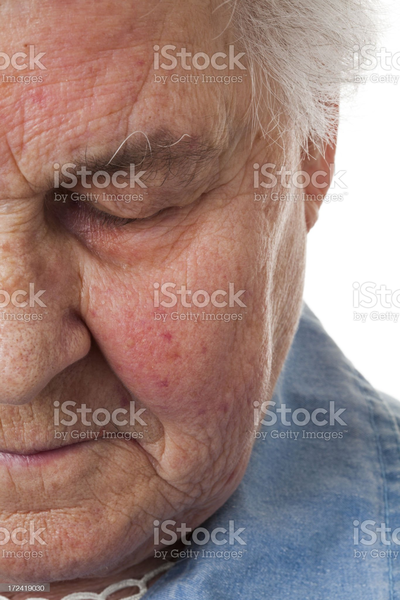 Senior royalty-free stock photo