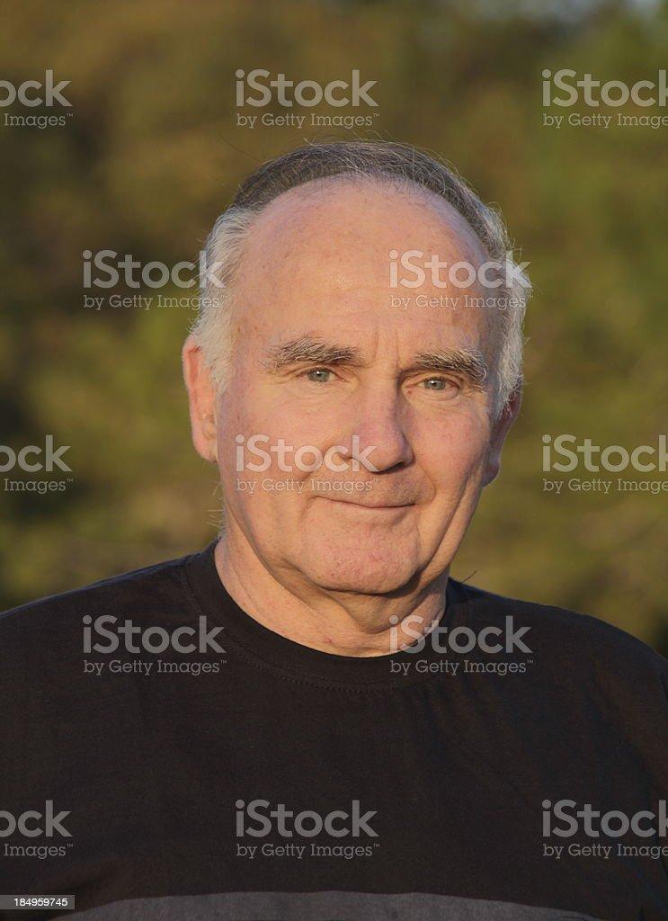 senior potrait royalty-free stock photo