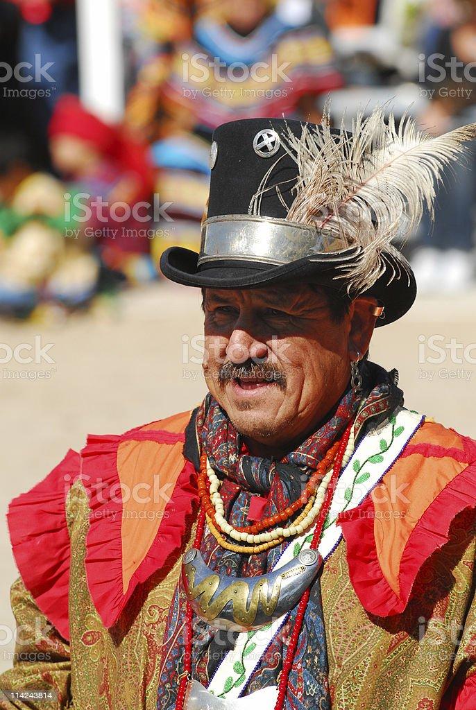 Senior Seminole Man stock photo