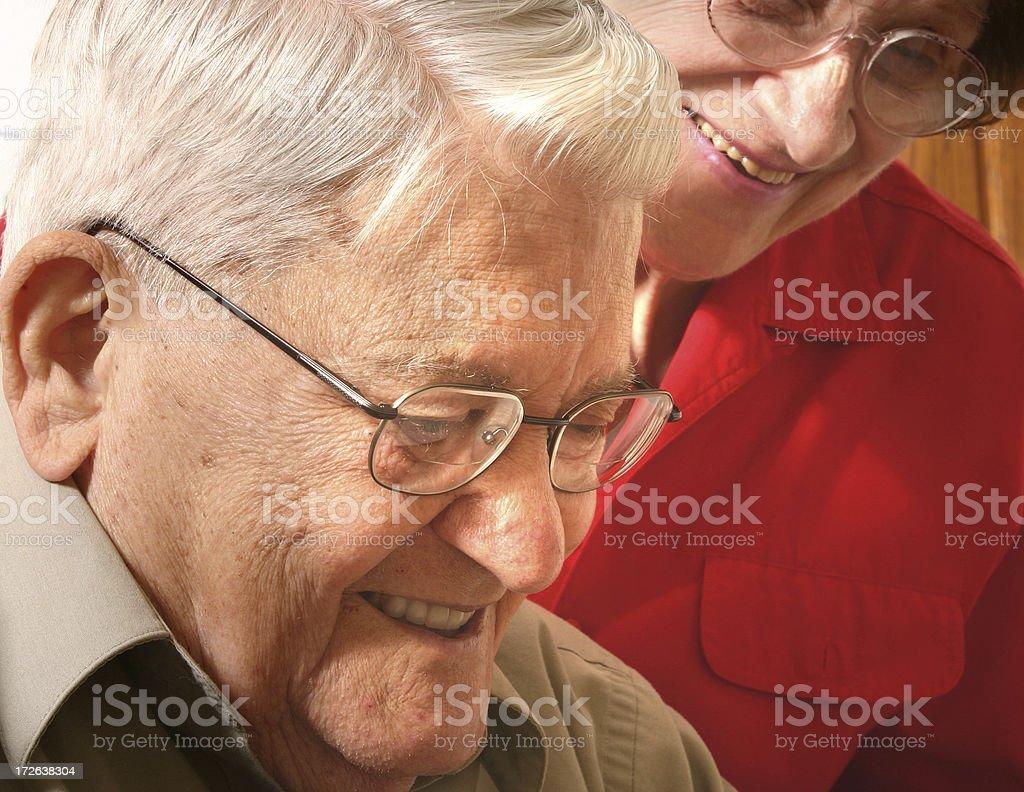 Senior Series: Companions royalty-free stock photo