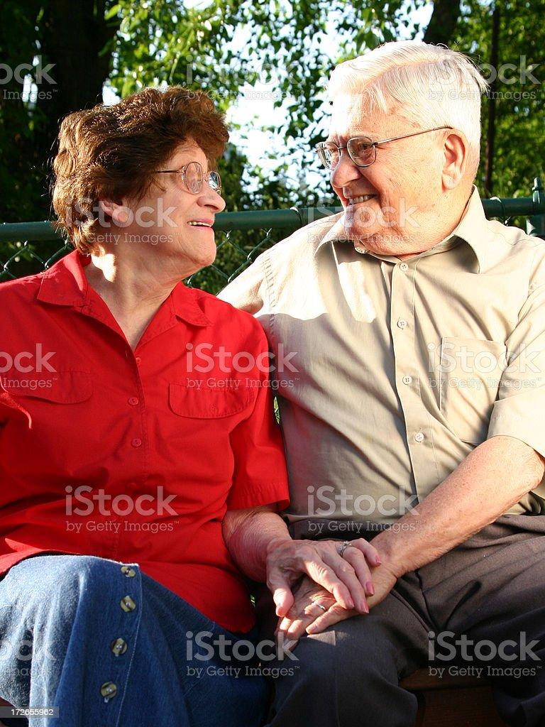 Senior Series: Still In Love royalty-free stock photo